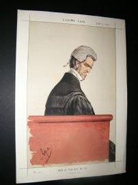 Vanity Fair Print 1871 George Shaw-Lefevre, Legal